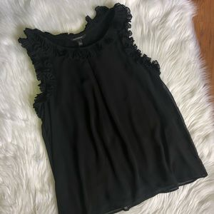 Banana Republic Black sleeveless blouse size L